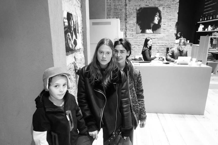 sopo papiashvili exhibition guests